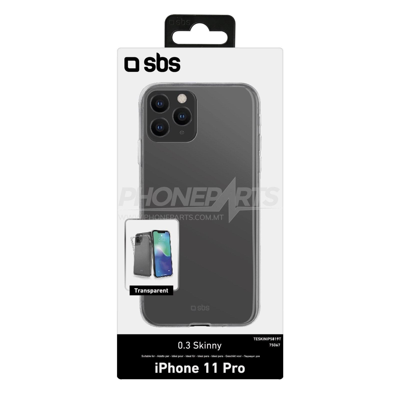 SBS Cover Skinny per Huawei P8 Lite 2017/P9 Lite 2017/Honor 8 Lite/Nova Lite