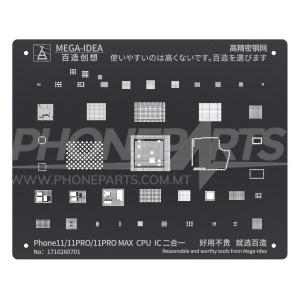Stencils - IC - Socket Apple